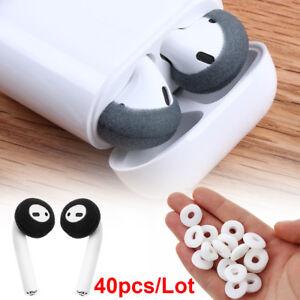 designer fashion 9679e 0de8a Details about Replacement Sponge Earpad Earphone Tips Cover Soft Foam For  Airpods Earpods