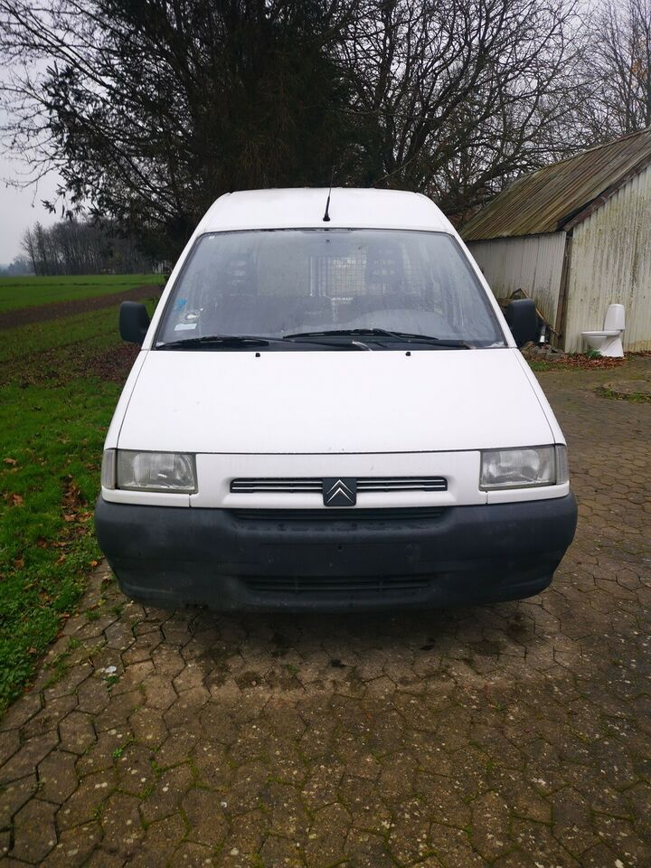 Citroën, Jumpy, 1,9 D Kassevogn