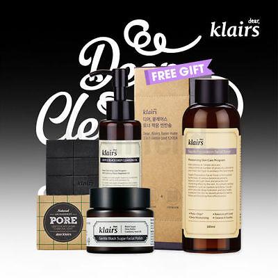 KLAIRS Deep Cleansing Pack , Set nettoyant en profondeur