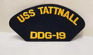 2-US-NAVY-USS-TATTNALL-DDG-19-PATCHES-SHIP-BOAT