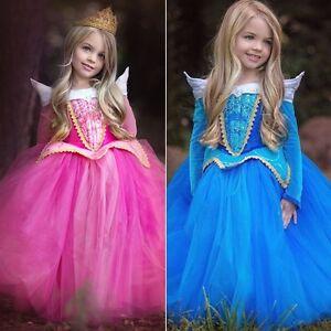 Perfect Image Is Loading Kids Girls Sleeping Beauty Princess Aurora Fancy Dress