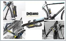 Onguard 8116 K9 Heavy Duty Link Plate Key Lock Bicycle Folding LK8116 79cm 5Keys