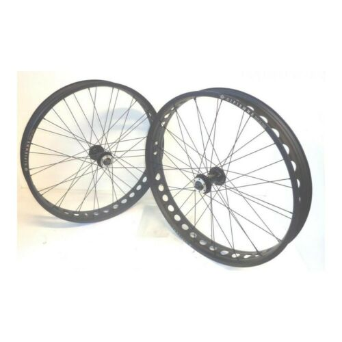 Set Wheels Fat Bike Gipiemme Disc 26 80 MM Hubs shimano Qr