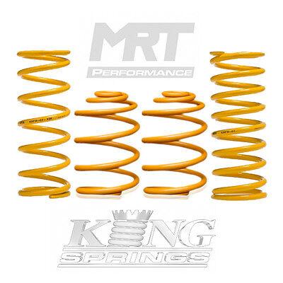 King Springs Front Rear Standard Coil 86-93 fits Volvo 240 KVFS-04 KVRS-02 fi...