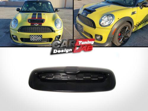 Campana De Ventilación Capó Negro Toma De Aire Toma Para Mini Cooper S R55 R56 R57 R58 R59