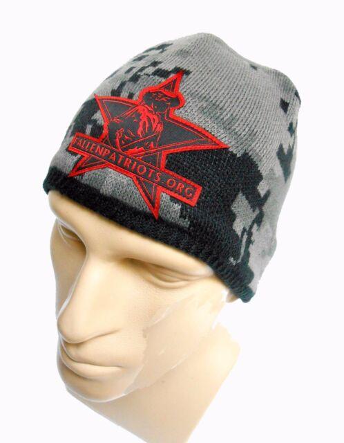 ac7866d841d Spyder Fallen Patriots Beanie Cap Hat Gargoyle Camo for sale online ...