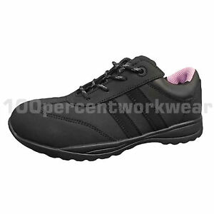 Womens Steel Shoes Trainers Ladies Warrior S1p Toe Mms46 Work New Src Safety Cap WAw5Eq0aq