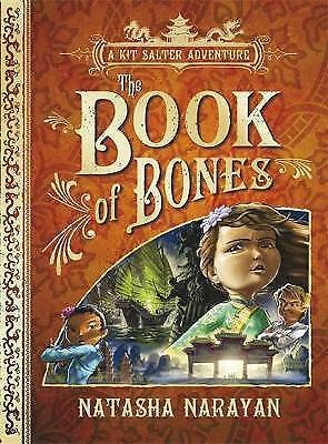 1 of 1 - Narayan, Natasha, A Kit Salter Adventure: The Book of Bones: Book 3, Very Good B