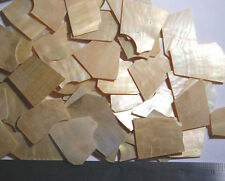 1 oz Inlay Material Gold Mother of Pearl Shell Blanks 1.5mm thickness
