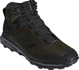 6ea52272d90 adidas Terrex Tivid Mid CP Hiking Shoe (Men's) in Night Cargo/Black ...