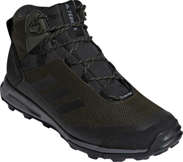 e8f42da8051 adidas Terrex Tivid Mid CP Hiking Shoe (Men's) in Night Cargo/Black/Grey  Four