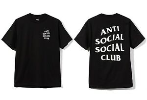Image Is Loading Auth Anti Social Club ASSC Classic White
