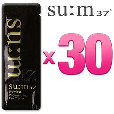 SU:M37 Flawless Regenerating Eye Cream 30pcs Anti-Aging Wrinkle SUM37 +Free Gift