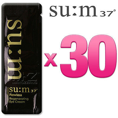 SU:M37 Flawless Regenerating Eye Cream 30pcs Anti-Aging Wrinkle SUM37 +Free Gift