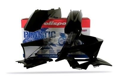 POLISPORT KIT PLASTICHE COMPLETE ENDURO BIANCO NERO GAS GAS EC 300 2011-2011
