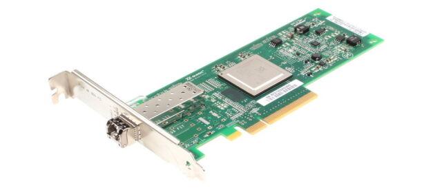 HP 8gb/s FC full perfiles HBA // qle2560-hp // ak344-63002 // con gbic