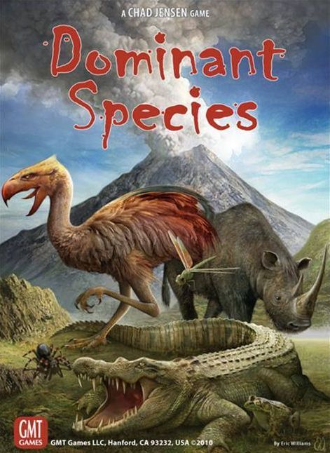Dominant Species, Boardgame, New by GMT Games, English Edition, Third Printing