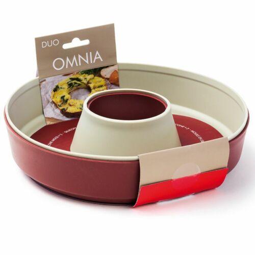 Omnia Silikonform Duo Pack Backform Silikon Backofen Camping Backen Auflaufform