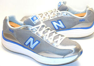 Womens New Balance 1442 Rock & Tone Blue & Silver Athletic Walking Running Shoes