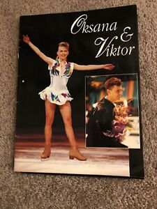 Oksana-Baiul-Viktor-Petrenko-Signed-Figure-Skating-Program-Nut-Cracker-on-Ice