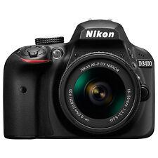"""Nikon D3400 Digital SLR HD 1080P 24.2MP 3"""" LCD Camera Black (ML1497)"""