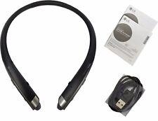LG Tone Platinum HBS-1100 Bluetooth Headset Harman Kardon Platinum Black HBS1100