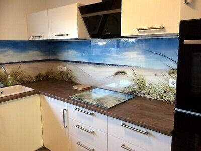 Küchenrückwand SP530 Dünen Gras Acrylglas Badfliese Spritzschutz Fliesenspiegel