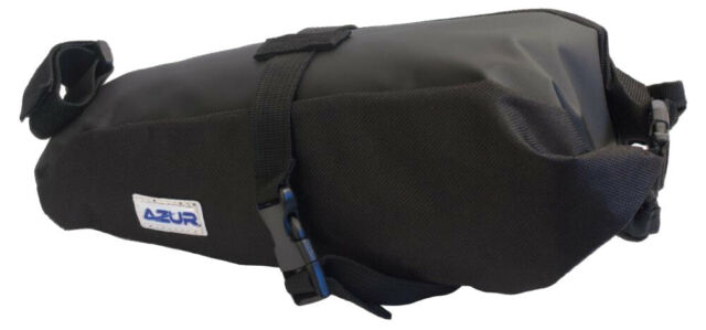 Azur Expanding Saddle Bag Waterproof Small