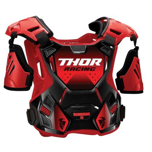 2020 Thor Guardian Kinder Brustpanzer Brustschutz MX Enduro Motocross Quad rot
