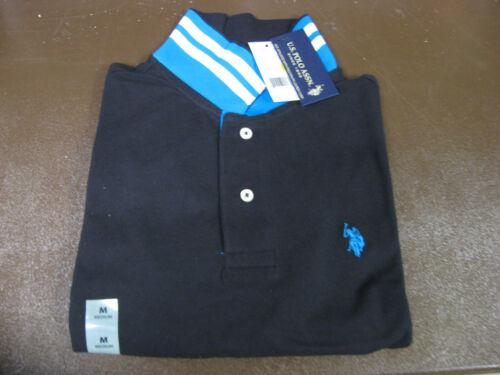 Size Medium Slim Fit Black 11694488 NWT! $42. US Polo Assn Short Sleeve Shirt