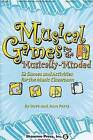 Musical Games for the Musically-Minded: 52 Games and Activities for the Music Classroom by Dave Perry, Jean Perry (Paperback / softback, 2008)