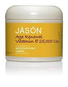 Jason Moisturizing Vitamin E Age Renewal Creme 4 oz (Pack of 6) 4 Pack - Alba Botanica Very Emollient Mineral Sunscreen Facial, SPF 20 4 oz