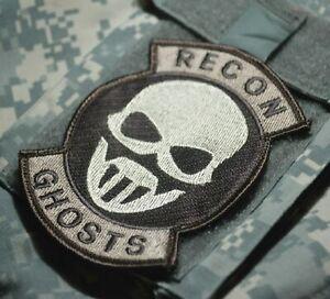 Afghinstan Joint Spéciale Opérations Task Force Velkrö Ocp Insignes : Ghost