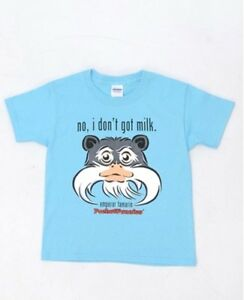 LOOK-ON-SALE-CUTE-Youth-T-shirt-w-Emperor-Tamarin-image-by-PocketFuzzies
