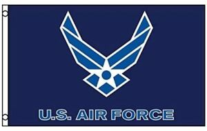 US-Air-Force-Flag-New-Style-Wings-Logo-3x5-ft-USAF-White-on-Blue-Veteran-Active
