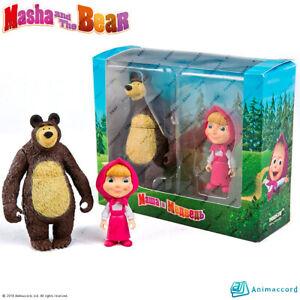 PROSTO-TOYS-411901-Masha-and-The-Bear-Set-Doll-Gift-Box-Collection-Figure
