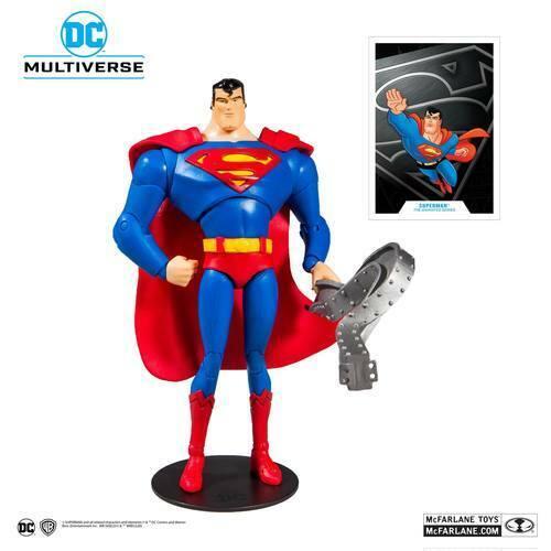 DC COMICS Batman The Animated Series Superman Action Figure McFarlane