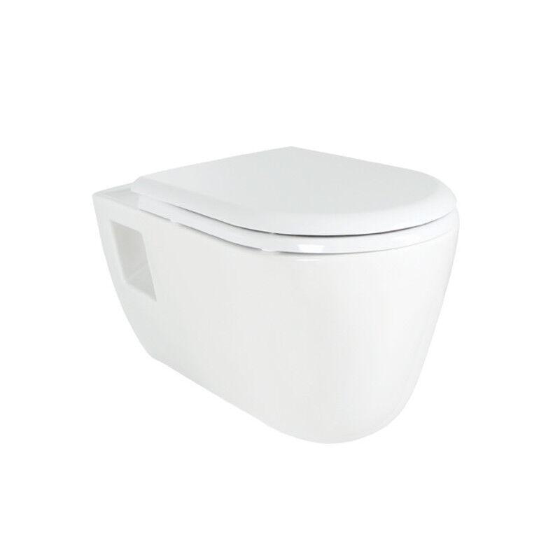 Moderne mur hung tout en un combiné WC bidet avec siège