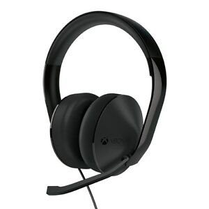Bien Microsoft Xbox One Stereo Headset With Mic - Black- For Xbox One - No Adapter ™ La Qualité D'Abord