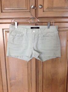Verde Brand Hem J Frayed Jean Denim Taglia 26 Shorts 158 menta Cutoff FaqqxHWz