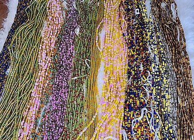 Stomach beads African waist beads Bundle of 3-Original African beads