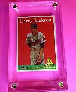 1958-TOPPS-Baseball-97-Larry-Jackson-St-Louis-Cardinals-NrMt-NM-HIGH-GRADE