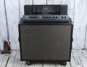 Ampeg-Vintage-Portaflex-B-12XTC-Flip-Top-Guitar-Combo-Amplifier-50-Watt-2x12-Amp