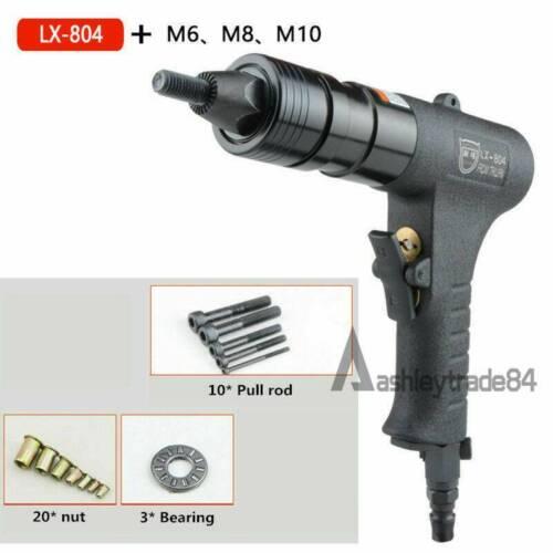 M6//M8//M10 Pneumatic Riveters Pneumatic Pull Setter Air Rivets Nut Gun LX-804