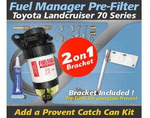 Fuel-Manager-Pre-Filter-Bracket-Kit-OS-30-FMB-for-Toyota-Landcruiser-70-Series