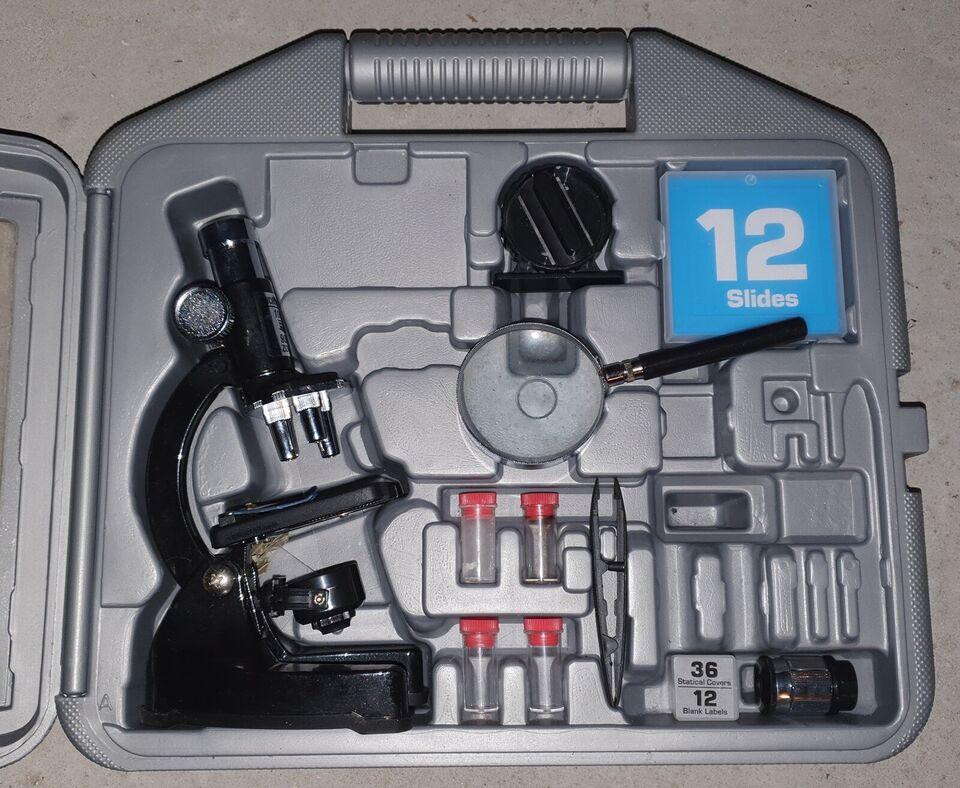 Mikroskop, Legetøjs mikroskop sæt, Top-Toy
