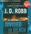Divided in Death by J D Robb (CD-Audio, 2009)