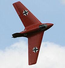 1/6 Scale German WW-II Messerschmitt Me-163 Komet Plans, Template, Instructions