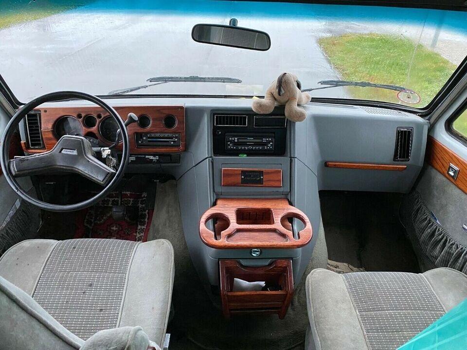 Chevrolet Chevy 6,5 TD aut. Van d Diesel modelår 1995 km 0
