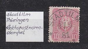 DR-Stempel-K1-034-STADTILM-034-Thueringen-9-6-81-bitte-ansehen